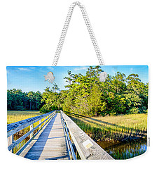 Little River Marsh Weekender Tote Bag by David Smith