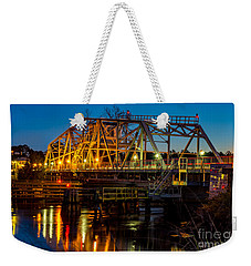Little River Swing Bridge Weekender Tote Bag