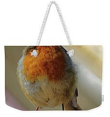 Little Robin Redbreast Weekender Tote Bag