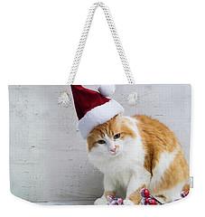 Little Santa Helper II Weekender Tote Bag