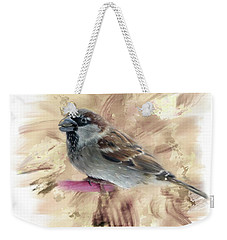 Little Sparrow Weekender Tote Bag by Mary Timman