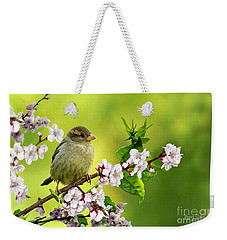 Little Sparrow Weekender Tote Bag