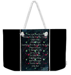 Little Star  Weekender Tote Bag