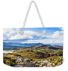 Weekender Tote Bag featuring the photograph Little Stream Running Down The Macgillycuddy's Reeks by Semmick Photo