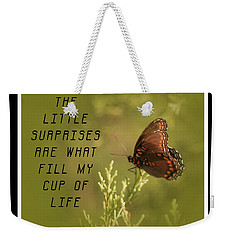 Little Surprises Weekender Tote Bag
