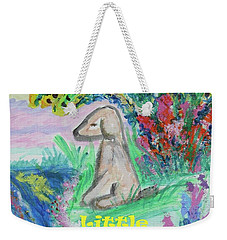 Little Sweet Pea With Title Weekender Tote Bag