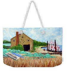 Little Toot Tug Boat Weekender Tote Bag