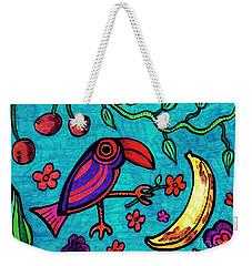 Little Toucan Weekender Tote Bag by Sarah Loft