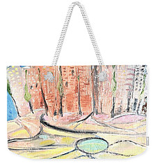 Little Town By The River Weekender Tote Bag