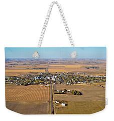 Little Town On The Prairie Weekender Tote Bag