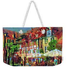 Little Town Weekender Tote Bag