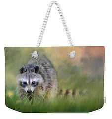 Little Wash Bear Raccoon Art Weekender Tote Bag