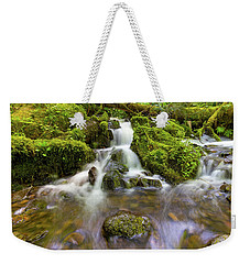 Little Waterfalls Along Wahkeena Creek Weekender Tote Bag