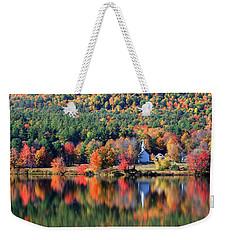 'little White Church', Eaton, Nh Weekender Tote Bag by Larry Landolfi