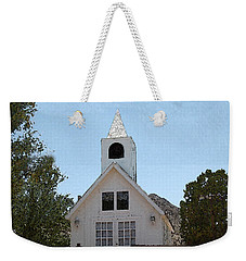 Little White Church Weekender Tote Bag