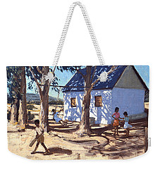 Little White House Karoo South Africa Weekender Tote Bag by Andrew Macara