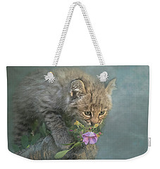 Weekender Tote Bag featuring the digital art Little Wonders by Nicole Wilde