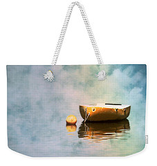 Little Yellow Boat Weekender Tote Bag