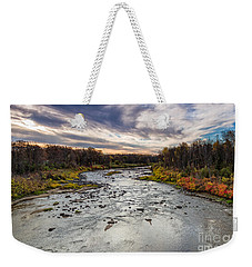 Littlefork River Weekender Tote Bag