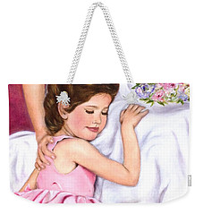 Littlest Wedding Belle Weekender Tote Bag