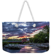Littleton Sunset On The Rocks Weekender Tote Bag