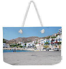 Livadia On Tilos Island Weekender Tote Bag