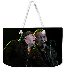 Weekender Tote Bag featuring the photograph Live At The Paramount by Jeff Ross