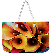 Weekender Tote Bag featuring the photograph Live Lightly by Jessica Manelis