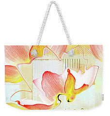 Weekender Tote Bag featuring the photograph Live N Love - Absf44b by Variance Collections