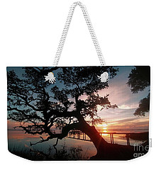 Weekender Tote Bag featuring the photograph Live Oak Sunrise by Benanne Stiens