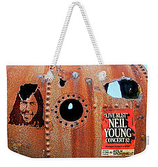 Live Rust, Neil Young Weekender Tote Bag