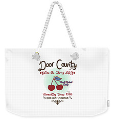 Live The Cherry Life Weekender Tote Bag