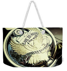Weekender Tote Bag featuring the photograph Live To Ride by Samuel M Purvis III