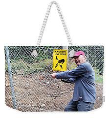 Live Wire Weekender Tote Bag