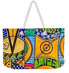 Living A Vibrant Life Weekender Tote Bag