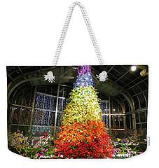 Living Color Christmas Tree Weekender Tote Bag