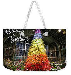 Living Color Season's Greetings Weekender Tote Bag