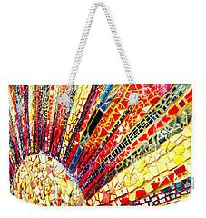 Living Edgewater Mosaic Weekender Tote Bag