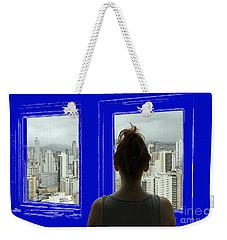Living In A Blueprint Weekender Tote Bag