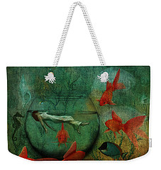 Living In A Fishbowl Weekender Tote Bag