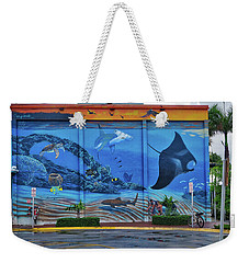 Living Reef Mural Weekender Tote Bag
