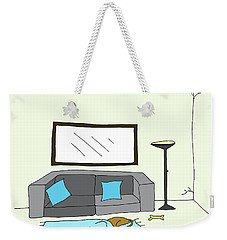 Living Room 002 Weekender Tote Bag