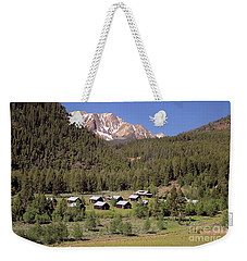 Livingston Mine Camp Weekender Tote Bag