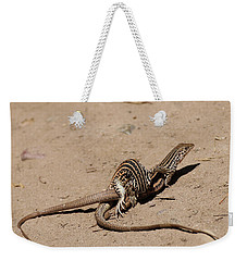 Lizard Love Weekender Tote Bag