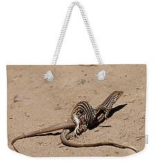 Lizard Love Weekender Tote Bag
