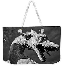 Weekender Tote Bag featuring the photograph Ljubljana Dragon #2 - Slovenia by Stuart Litoff