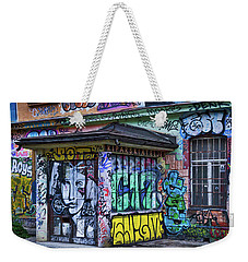 Weekender Tote Bag featuring the photograph Ljubljana Grafitti #2 - Slovenia by Stuart Litoff
