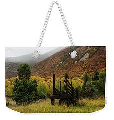 Loading Chute - 9550 Weekender Tote Bag