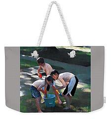 Loading Up Weekender Tote Bag by Jodie Marie Anne Richardson Traugott          aka jm-ART