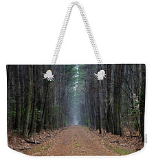 Weekender Tote Bag featuring the photograph Loblolly Lane by Robert Geary
